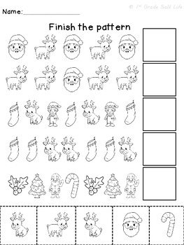 Christmas Math Patterns