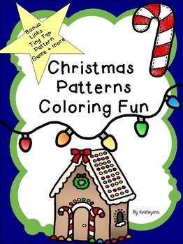 Christmas Patterns - AB, ABB, ABC, ABBC, & ABCD