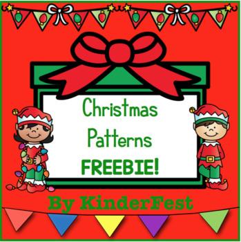 Christmas Patterns FREEBIE!