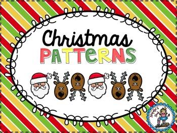 Christmas Patterns {FREEBIE}