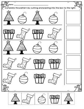 Christmas Patterns *NO PREP*