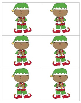 Christmas Patterns(Pocket Chart Set included)