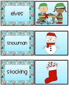 Christmas Pelmanism (memory) game