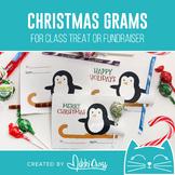 Christmas Penguin Candy Grams   Winter Grams   Class Treat