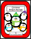 Christmas Penguin Clip Art! 50+