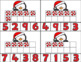 Christmas Penguin Clip Card/Number Recognition