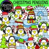 Christmas Penguin Clipart (Christmas Clipart)