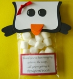 Christmas Penguin Poop student gifts (Sold in Sets of 12)