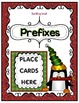 Christmas Penguin Prefix or Suffix Sort