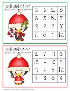 Roll and Cover - Christmas Penguin