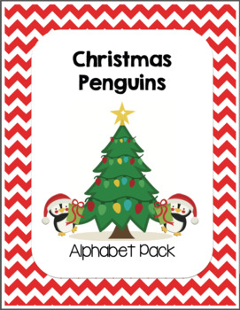Christmas Penguins Alphabet Pack