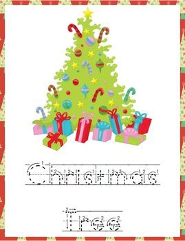 Christmas Penmanship Pack (PreK through Middle School)