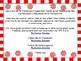 Christmas Peppermint Candy  Alphabet Letter Flashcards Upp