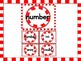 Christmas Peppermint Candy Fry List 4 of 1st 100 Sight Word Flashcards & Posters