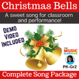 Christmas Song & Activity   Jingle Bells   Holiday   mp3s,