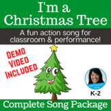 Christmas Action Song | Christmas Tree Song | mp3s, Music, Lessons, SMART, Video