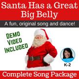 Christmas Song & Activity   Santa Song   mp3s, Music, Less