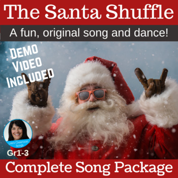 "Christmas Performance Song | ""The Santa Shuffle"" 