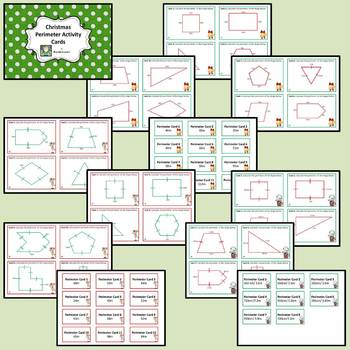 Christmas Perimeter Activity Cards