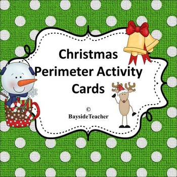 Christmas Perimeter Activity Cards