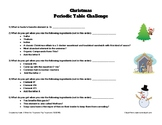 Christmas Periodic Table Challenge