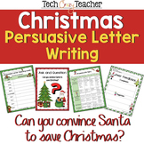 Christmas Persuasive Letter Writing Project