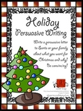 Christmas Persuasive Writing