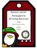 Christmas Persuasive Writing Activity
