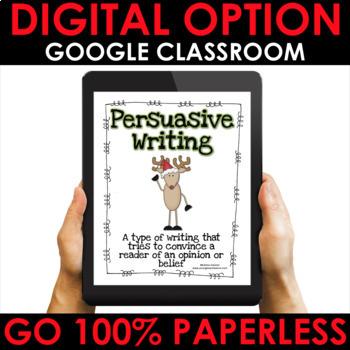 Christmas Persuasive Writing Pack | Perusasive Writing Prompts