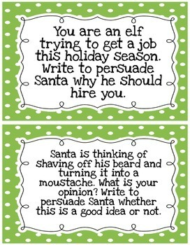Christmas Writing Prompts.Christmas Writing Activities Persuasive Prompts Opinion