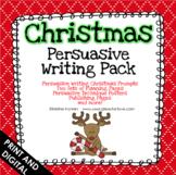 Christmas Writing Activities - Persuasive Prompts - Opinion - Google Classroom