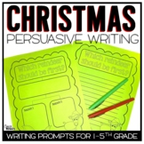 Christmas Persuasive Writing Pack - 4 Prompts