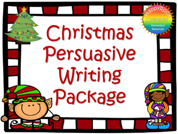 Christmas Persuasive Writing Package