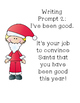 Persuasive Writing Prompts Holiday Themed