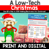 Christmas Opinion Writing: A Low-Tech Christmas for Google Classroom or Print