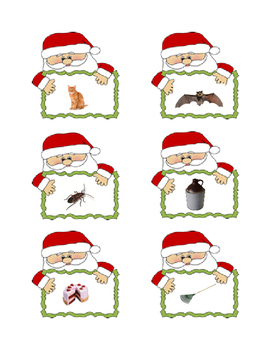 Christmas Phonemic Awareness Centers