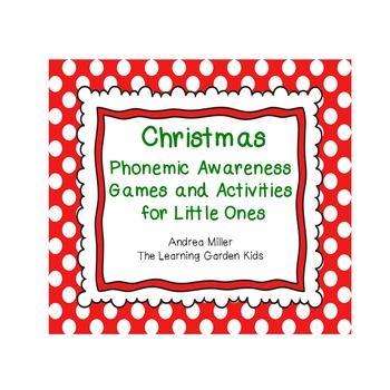 Christmas Phonemic Awareness Games and Activities
