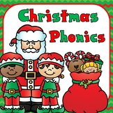 Christmas Phonics: Beginning, Medial, and Ending Sounds