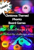 Christmas Phonics Board Games