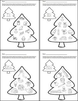 Christmas Phonics - NO PREP