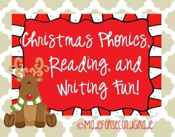 Christmas Phonics, Reading, and Writing Fun