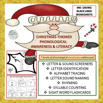 Christmas-Themed Phonological Awareness & Literacy Unit
