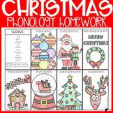 Christmas Phonology Homework