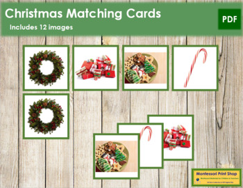 Christmas Photo Matching Cards