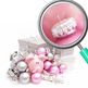Christmas Photos in Pinks and Browns Photograph Clip Art Set for Commercial Use