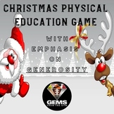 Christmas Physical Education Game with Emphasis on Generosity!