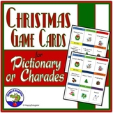 Christmas Charades or Pictionary Game