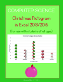 Christmas Pictogram for Students of All Ages (Excel 2013 and 2016)