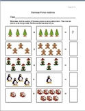 Christmas Picture Addition Worksheets