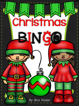 Christmas Picture Bingo